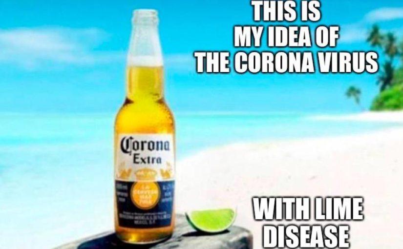 La birra Corona ai tempi del Coronavirus…un caso curioso!